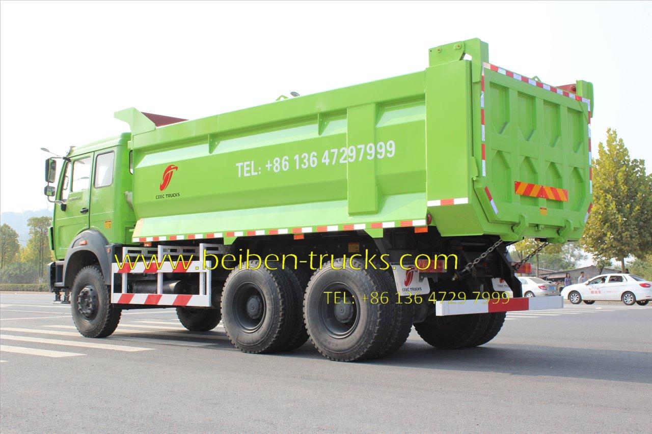 beiben 2534 tipping truck supplier