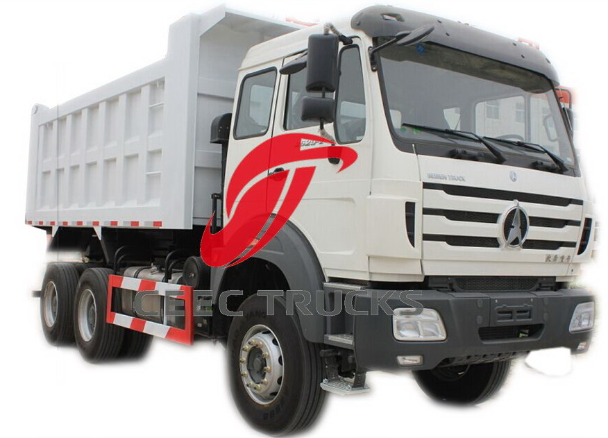 beiben 2529 dump truck supplier