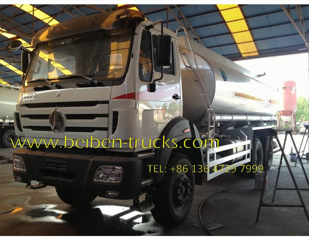 beiben 2527 oil tanker truck