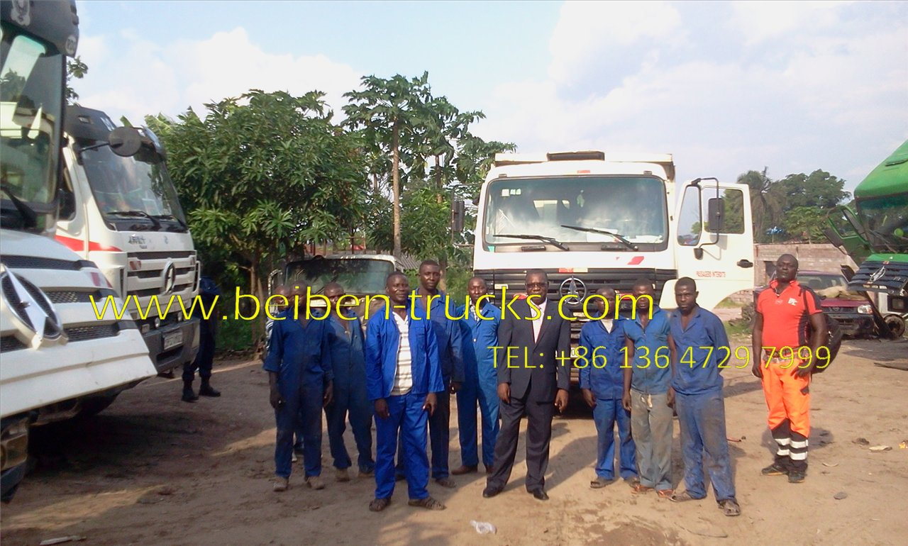 congo beiben dump truck supplier