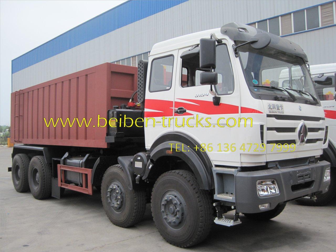 beiben 3138 dump truck supplier