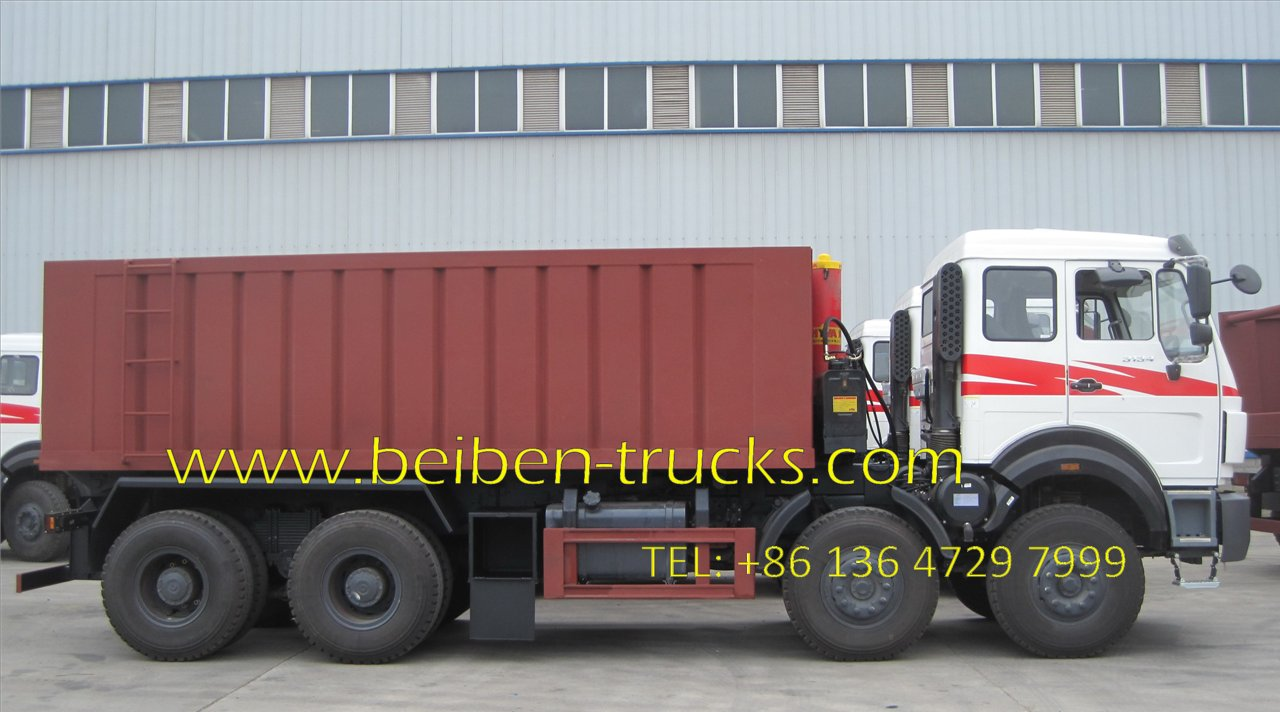 beiben 3138 dump truck supplier