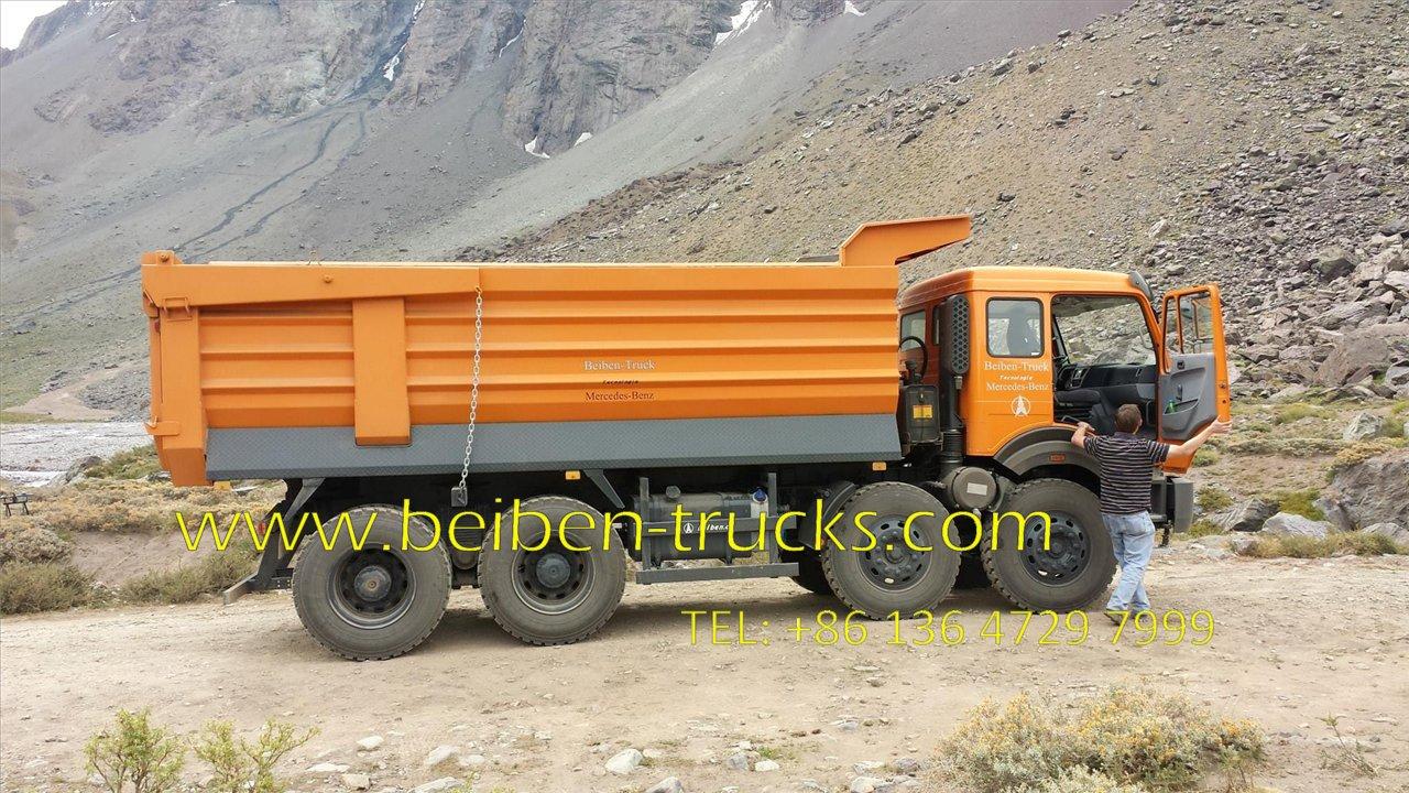 beiben 100T dump truck