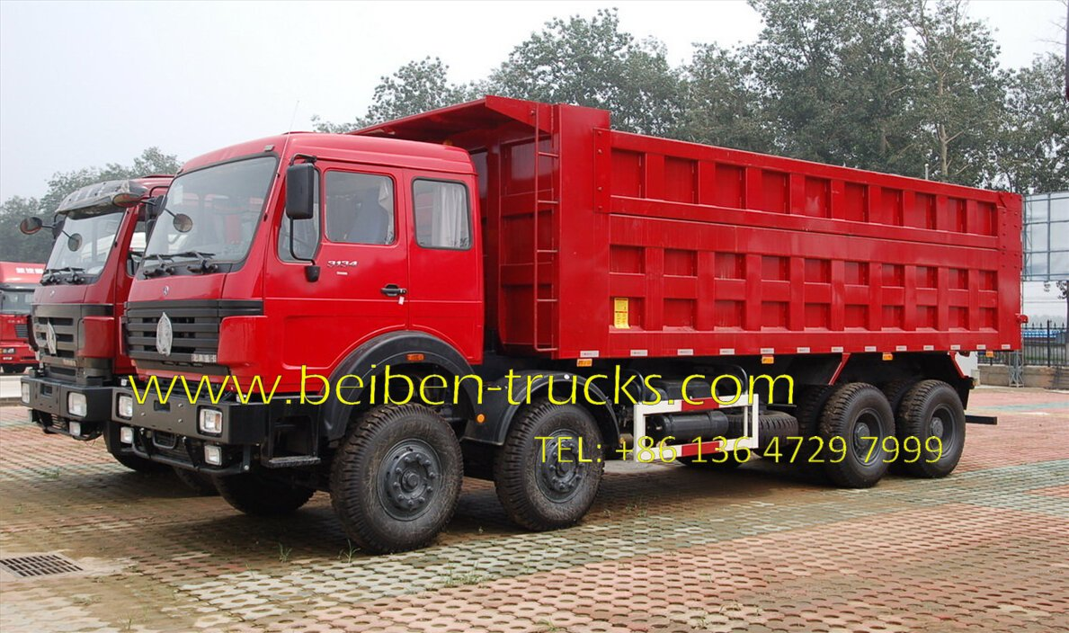 beiben 3134 earth moving dump truck