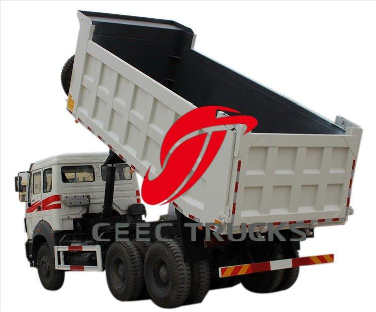 congo beiben 2529 dump truck