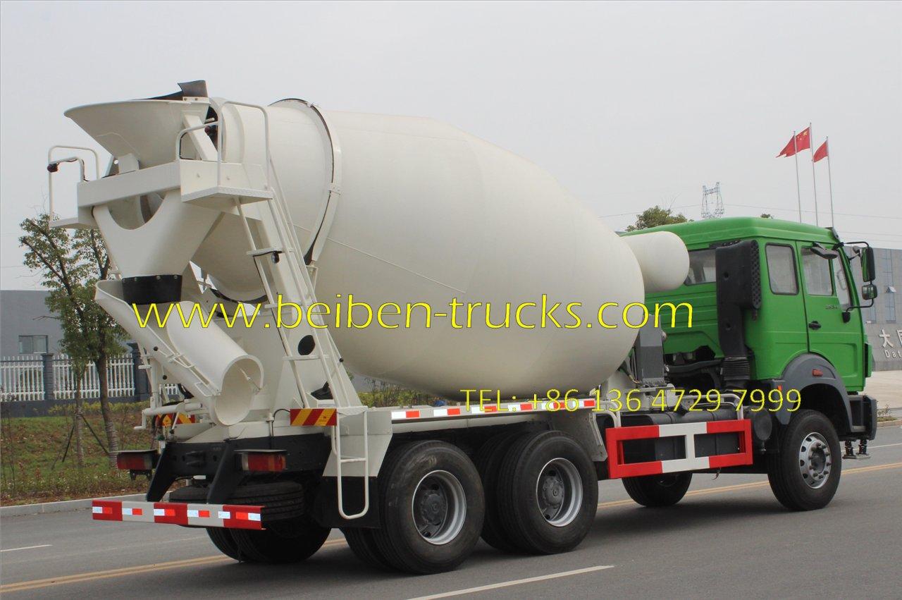 beiben 2534 mixer truck manufacturer