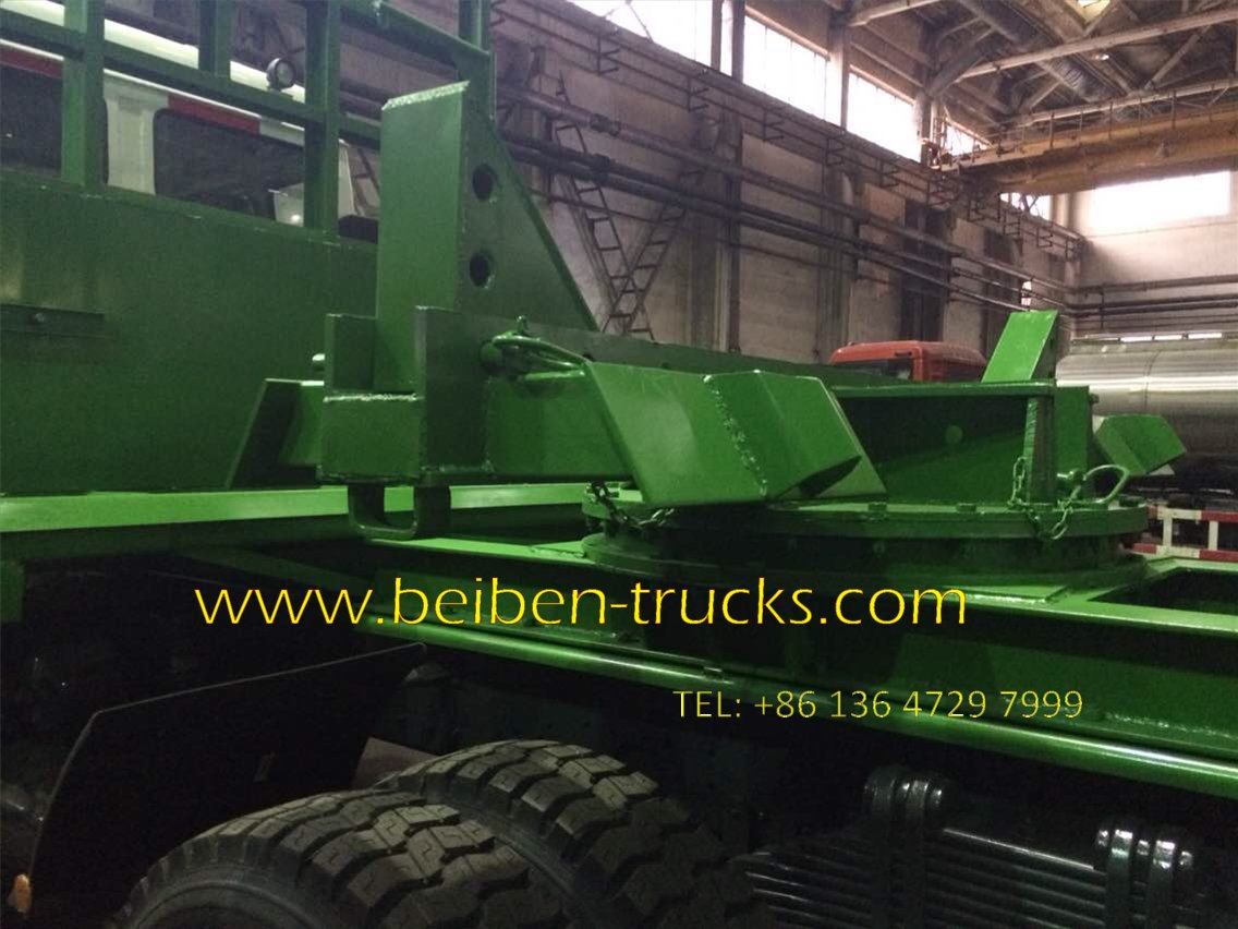 beiben 2638 logging truck