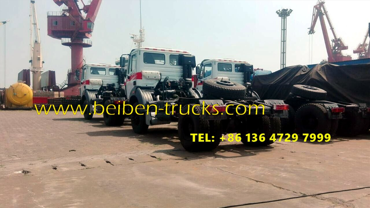 beiben 2538 tractor truck supplier