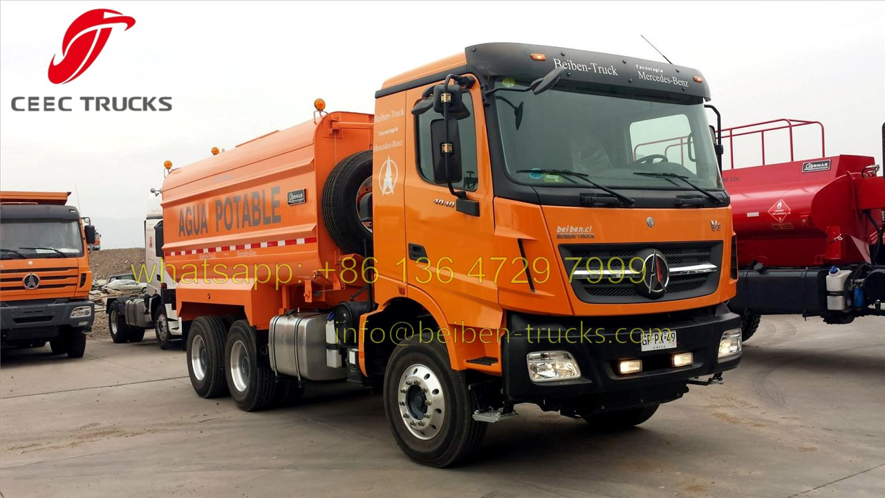 beiben V3 water tanker supplier