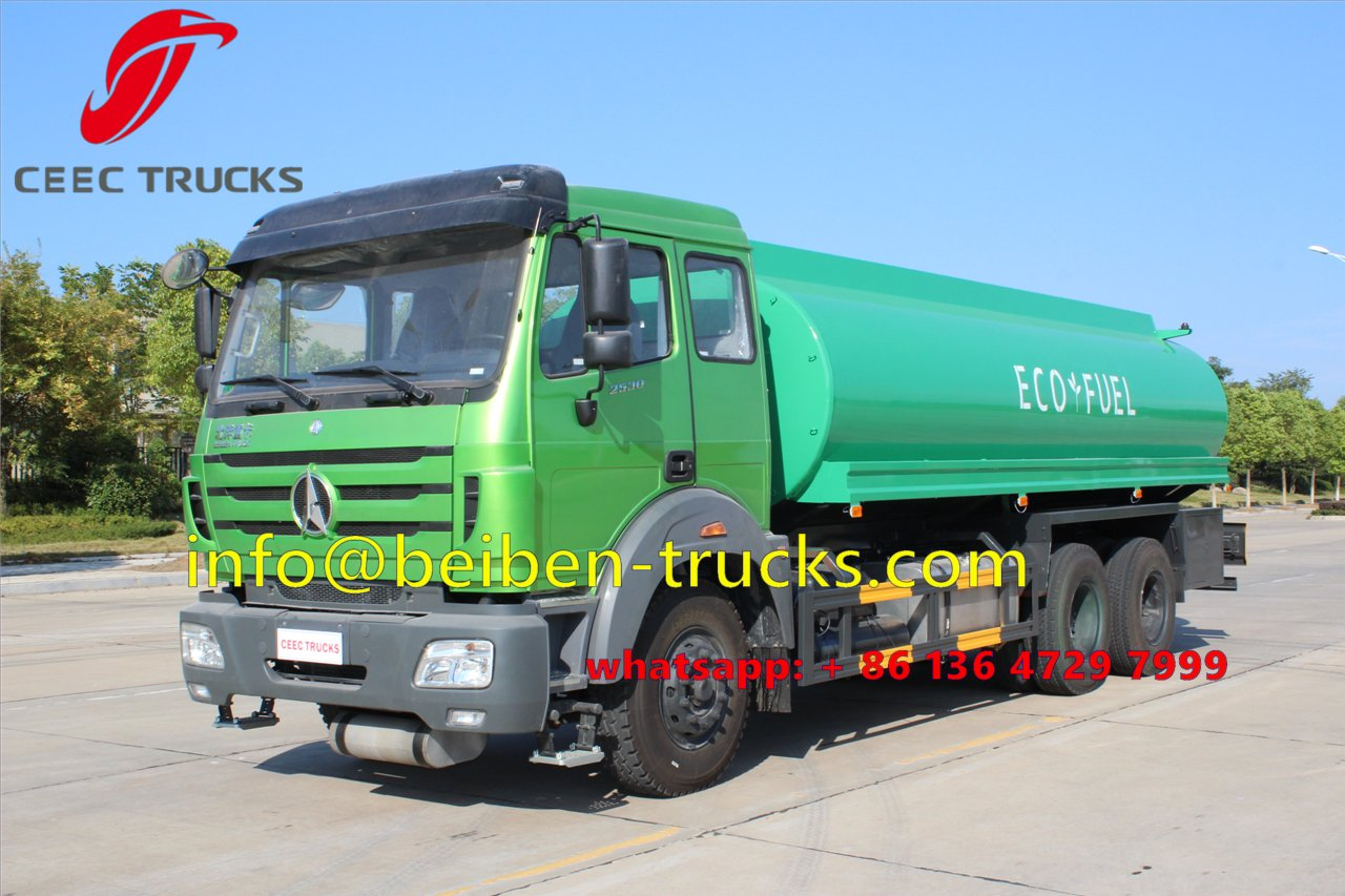 beiben 10 wheeler oil truck supplier