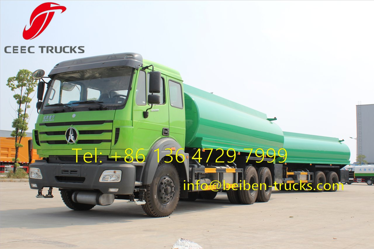 beiben fuel trucks supplier