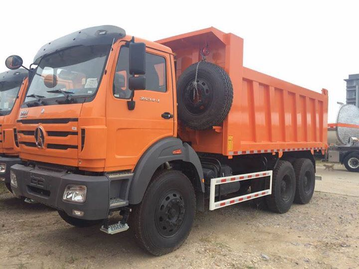 beiben 2536 dump truck supplier
