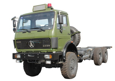 beiben all wheel drive tractor truck