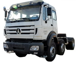 china beiben tractor truck