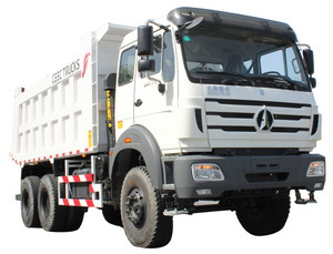 beiben 340 hp engine tipper