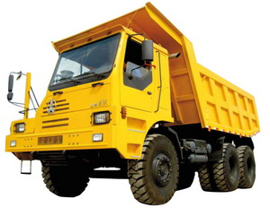 beiben mining dump truck
