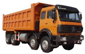 beiben 3134 dump truck