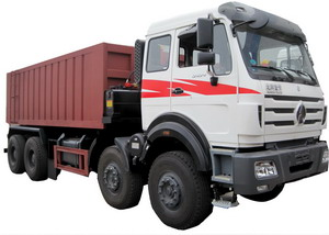 china beiben 380 hp tipper truck