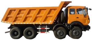 beiben 12 wheel dump truck