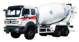 beiben 8 CBM mixer truck