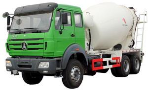 beiben 10 CBM mixer truck