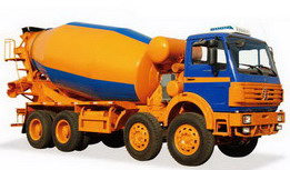beiben 12 cbm cement mixer