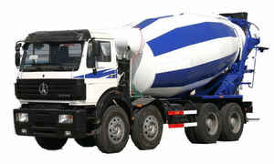 north benz mixer truck