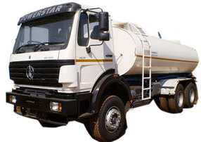 china beiben fuel truck supplier