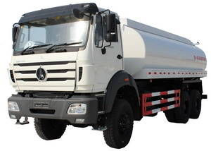 beiben all wheel drive fuel truck