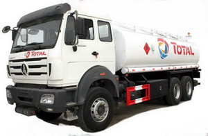 beiben 20 CBM fuel tanker truck
