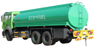 north benz oil tanker truck