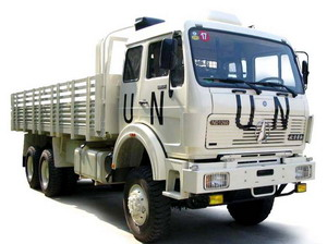 beiben 6 wheel drive truck