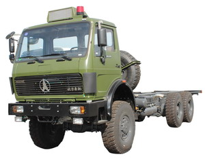 beiben all wheel drive truck chassis