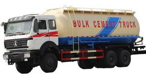 beiben 2534 bulk cement truck