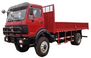 beiben 4 wheel drive cargo truck