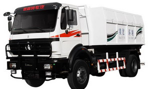 beiben garbage trucks