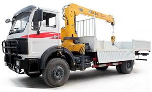 beiben crane truck