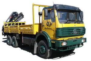 beiben 12 Ton crane truck