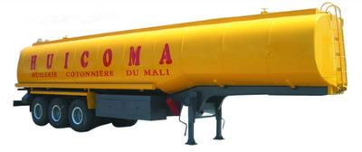 fuel tanker semitrailer