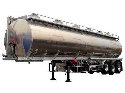 aluminum oil semitrailer