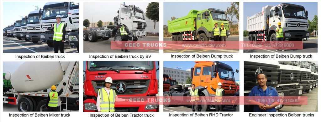 beiben trucks traing