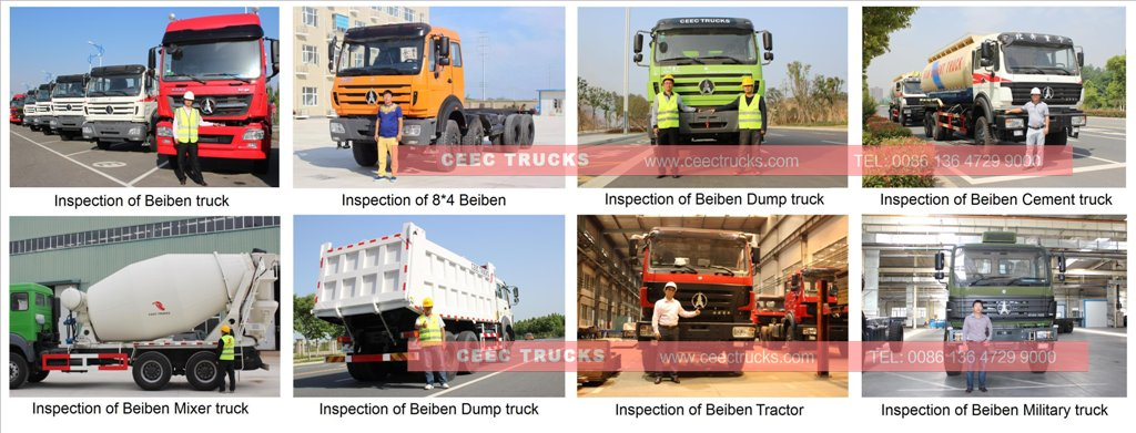 beiben trucks inspection