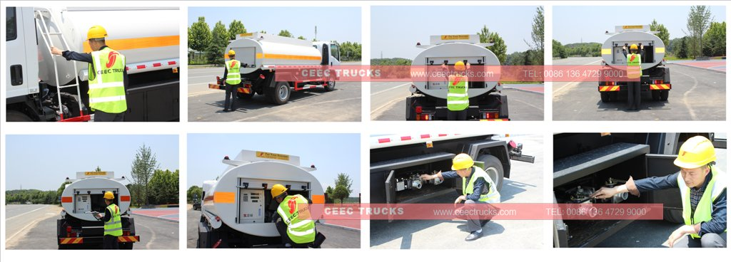 beiben fuel truck inspection