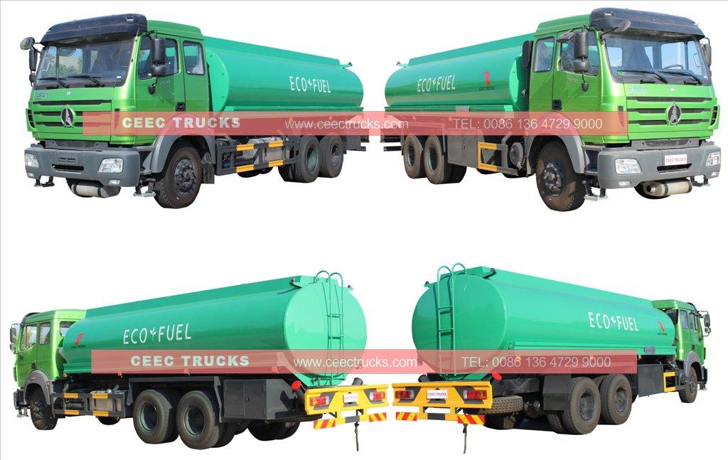 beiben fuel truck supplier
