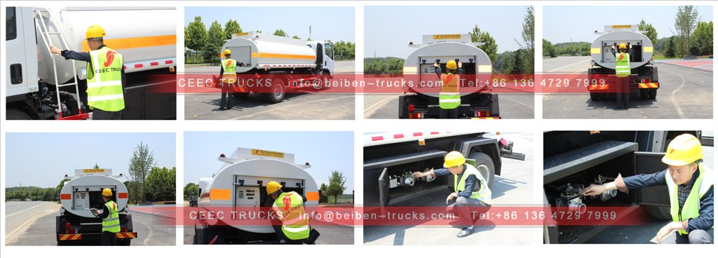 beiben fuel trucks inspection