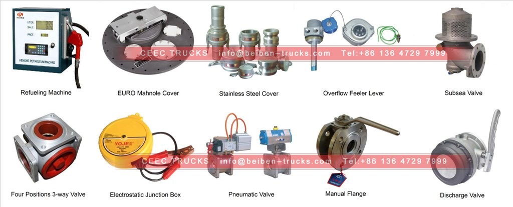 beiben fuel truck parts
