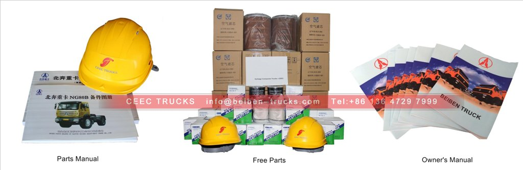 beiben oil truck parts