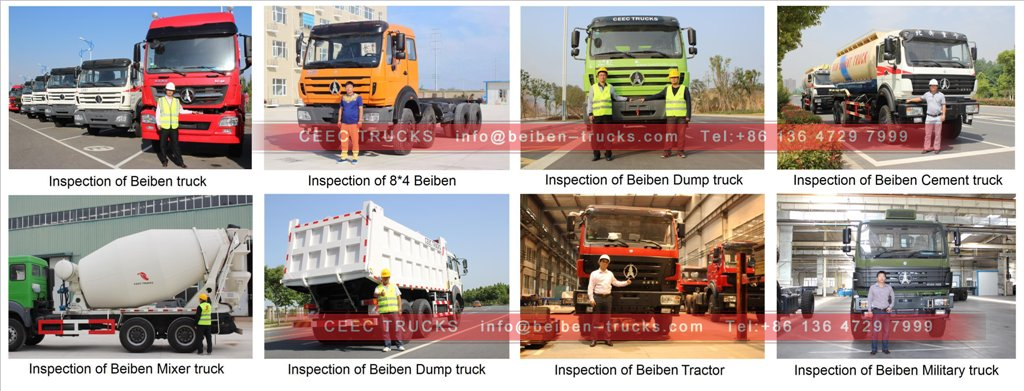 beiben oil trucks shipping