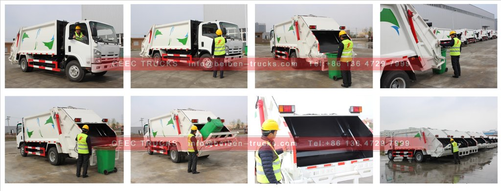 garbage compactor truck inspection