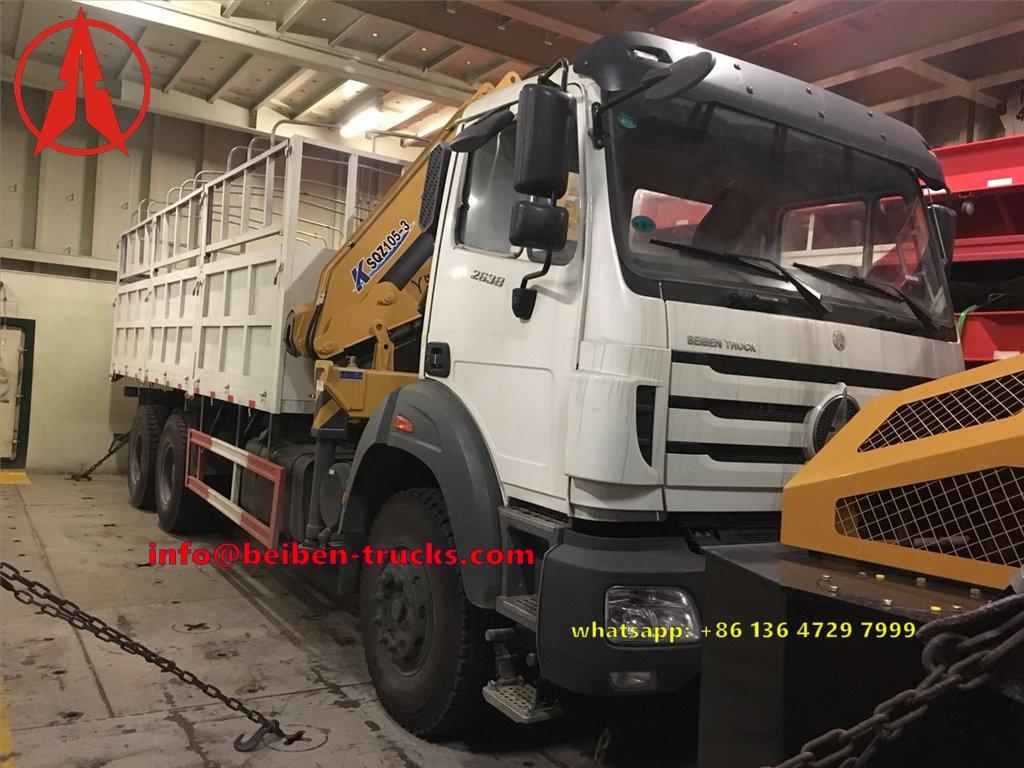 congo beiben 2638 crane truck